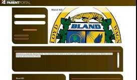 txConnect for Bland ISD - txConnect : Login
