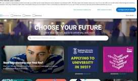 UCAS   At the heart of connecting people to higher education