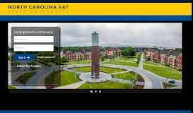 Undergraduate Admissions - North Carolina Agricultural and ...
