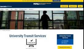 University Transit Services - Northern Arizona University