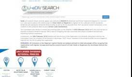 Unregistered Investors for E-Dividend Payment