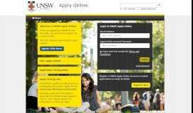UNSW Apply Online - UNSW Sydney