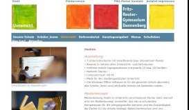 Unterricht - Fritz-Reuter-Gymnasium Homepage