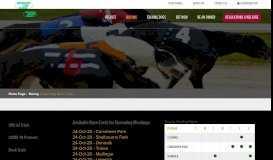 Upcoming Race Cards - Irish Greyhound Board