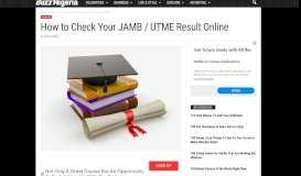 UTME/Jamb Result: How to Login and Check Yours Online