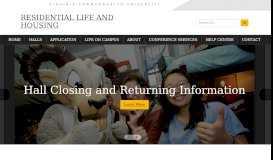 VCU Residential Life & Housing - Virginia Commonwealth University