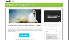 Verizon Supplier Management Program - Avetta