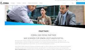 Vertriebspartner   Zebra - Zebra Technologies