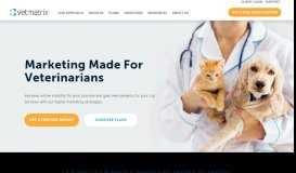 Veterinary Marketing Websites | VetMatrix | iMatrix