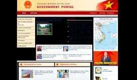 Viet Nam Government Portal