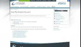 View My Student Account - City Colleges of Chicago