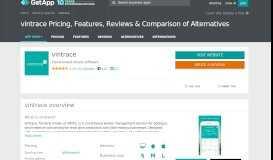 vintrace Pricing, Features, Reviews & Comparison of ... - GetApp