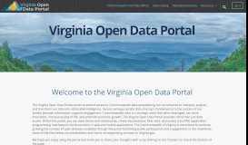 Virginia Open Data Sources