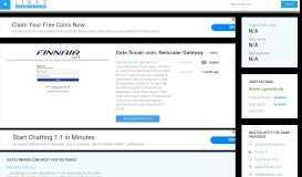 Visit Gate.finnair.com - Netscaler Gateway.