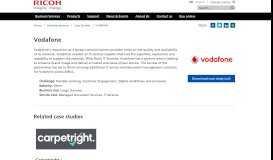 Vodafone   Ricoh United Kingdom