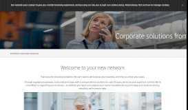 Vodafone's corporate solutions | Vodafone UK
