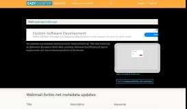 Web Mail Forbin (Webmail.forbin.net) - Login