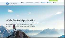 Web Portal Development - Axisware