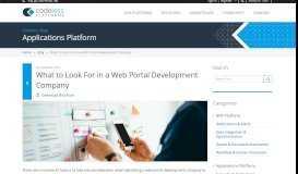 Web Portal Development Company | Codeless Platforms