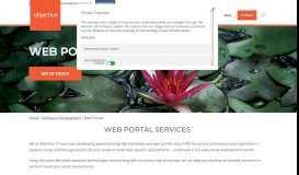 Web Portals - Objective Computing Ltd