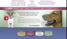 Webster Groves Animal Hospital and Urgent Care Center ...