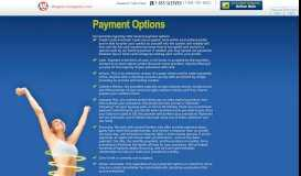 Weight Loss Agents - Payment Options