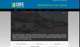 Welcome | COFE Properties | Commercial Real Estate for Lease ...