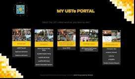 Welcome-myUSTe Portal