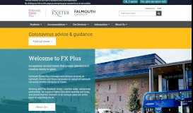 Welcome to Falmouth Exeter Plus