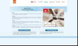 Welcome to Global Vendor Portal