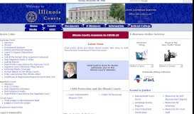 Welcome to the Official Site of the Illinois Courts