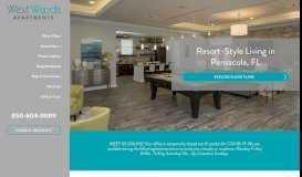 West Woods Apartments: Northwest Pensacola, FL Apartments for Rent