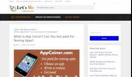 What is App Coiner? Can You Get paid For Testing Apps ...