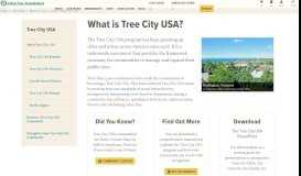 What is Tree City USA? - The Arbor Day Foundation