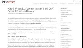Why ServiceNow's London Version is the Best Yet for HR Service ...