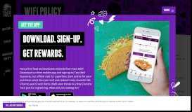 Wifi Policy - Taco Bell