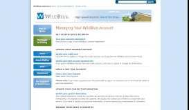 WildBlue | WildBlue Customers: Update Your Information and Billing ...