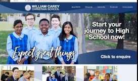 William Carey Christian School