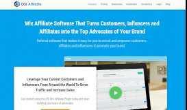Wix Affiliate Software - OSI Affiliate