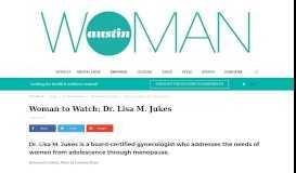 Woman to Watch: Dr. Lisa M. Jukes - Austin Woman Magazine