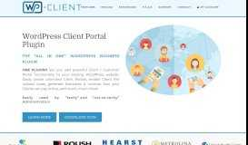 WordPress Client Portal Area, Invoicing & Project Management Plugin ...