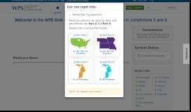 WPS GHA Portal - Site Moved
