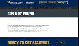 WVU Portal Login   WVU Tech Admissions   West Virginia University ...