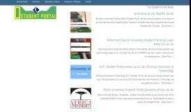 www.buse.ac.zw Student Portal (BUSE ePortal) Bindura University