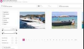 Yachtcharter Portals Nous & Boot mieten - Click&Boat