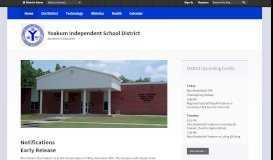 Yoakum Independent School District / Overview