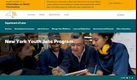 Youth Portal - New York State Department of Labor