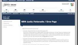 Zwangsversteigerungen - NRW-Justiz