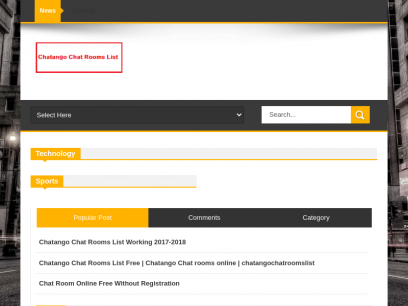 List chatango chat room Adult Chat