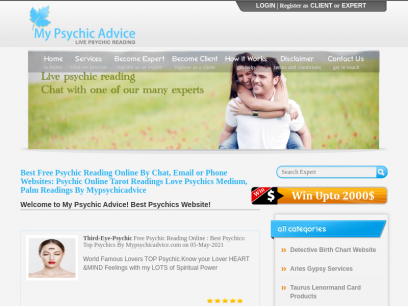 Free love psychic chat online